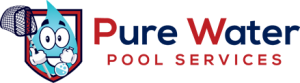 Pure Water Pool Service Logo