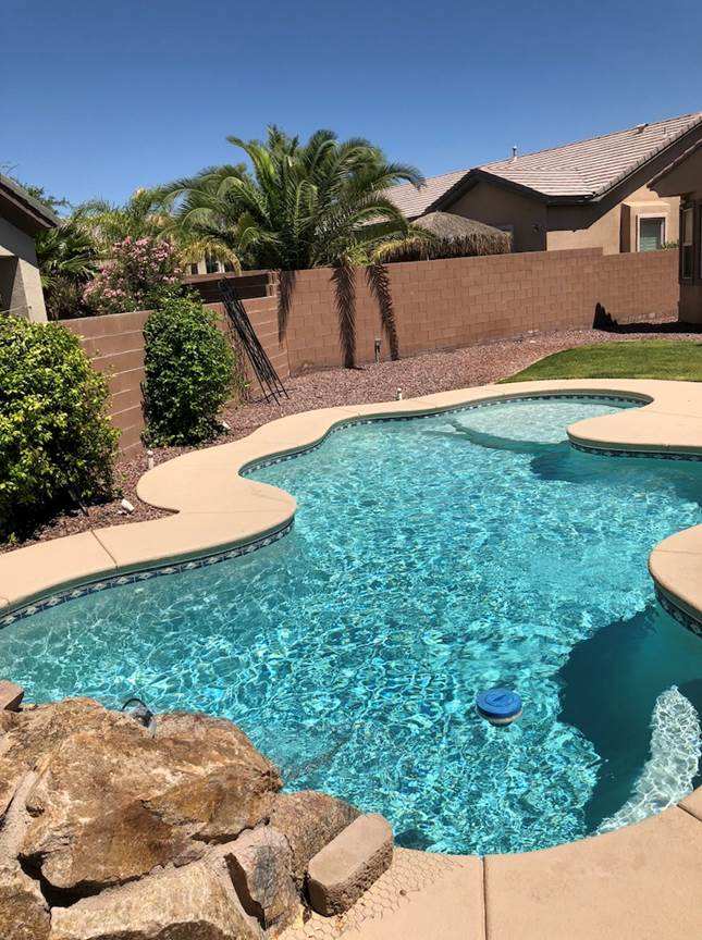 Weekly Pool Cleaning Service in Las Vegas